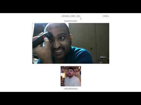 Chatroulette Dude Shaved His Eyebrows Off Live