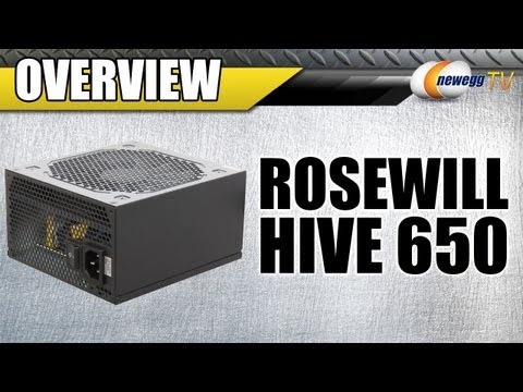 Newegg TV: Rosewill HIVE Series 650W Modular Design Power Supply Overview
