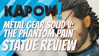 Metal Gear Solid Statue Kapow! Review