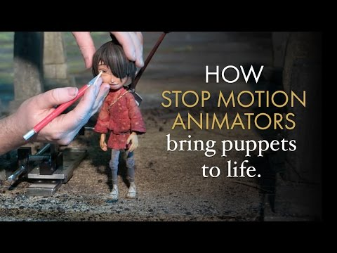 Credited As: Stop Motion Animator