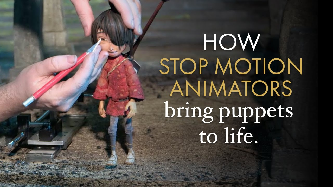 how to become a stop motion animator