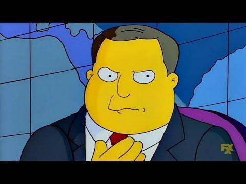 Alex Jones On The  Simpsons