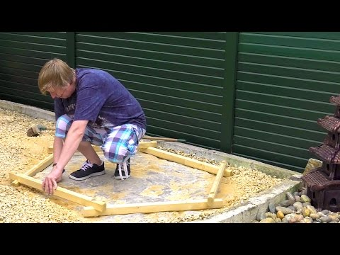 How to Build a Pond (Above Ground)