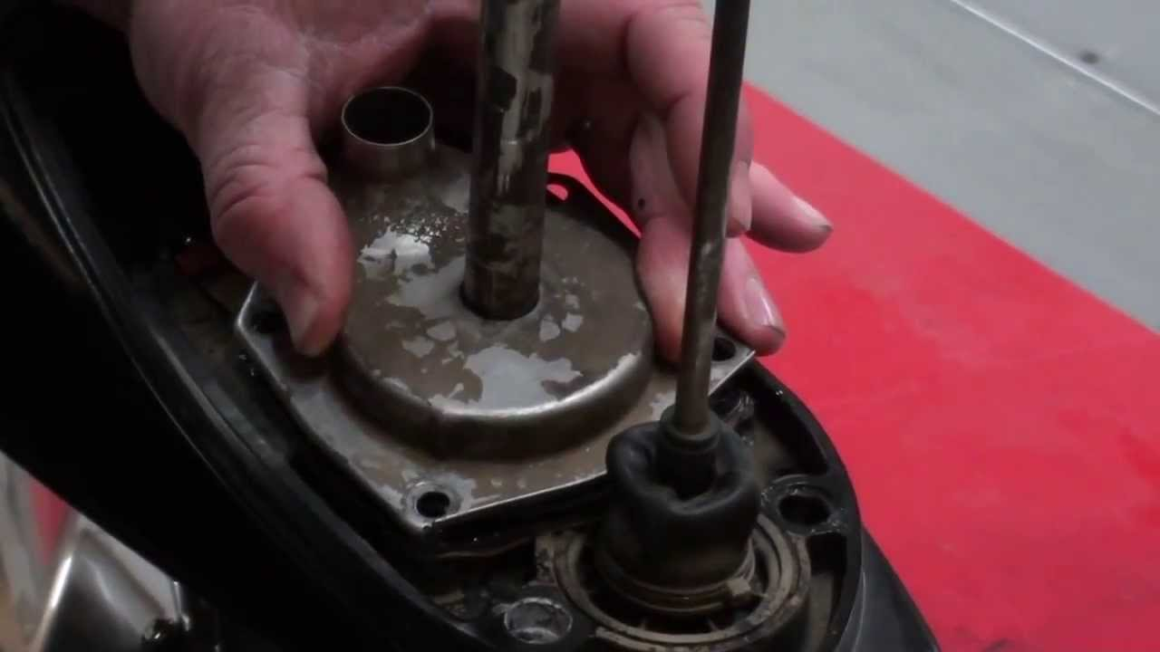 medium resolution of pt 2 mercury 50hp outboard water pump replacement at d ray s shop youtube