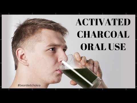 Consuming Activated Charcoal Orally | Bearded Chokra