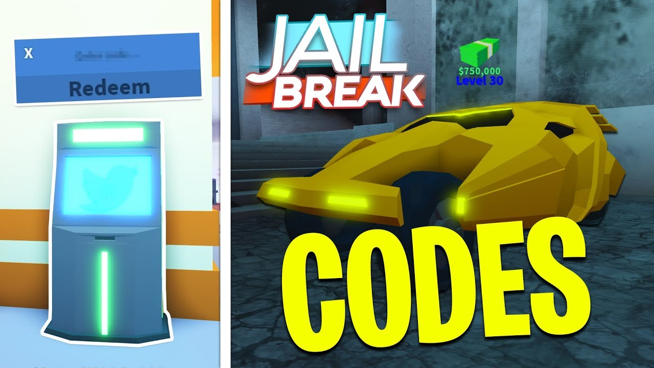 2 New Codes In Jailbreak Free Money Roblox Youtube