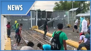 US sends troops to protect border in response to migrant caravan