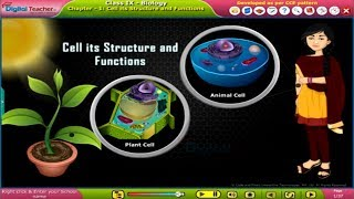 SSC Class9 Biology U1 Cell its Structure and Functions DIGITAL TEACHER K12 CONTENT ANIMATIONS PRESEN