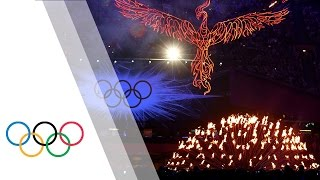 The Complete London 2012 Closing Ceremony | London 2012 Olympic Games(Click here for all Olympic highlights and let the Games never end: http://go.olympic.org/watch?p=yt&teaser=b Closing Ceremony - 12 August 2012 - London ..., 2015-08-27T22:04:46.000Z)