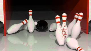 3D Bowling Animation