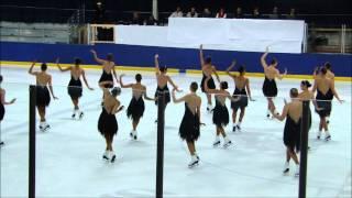 Skyliners Synchronized Ice Skating - Junior Long Program - Porter Classic (Michigan) 2011