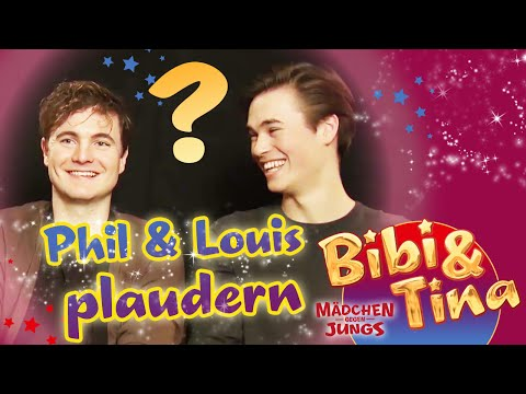 Bibi & Tina - MÄDCHEN GEGEN JUNGS - Interview mit Phil und Louis
