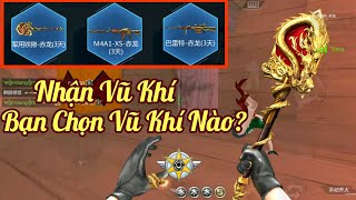 CF Mobile : Nhận Bộ Vũ Khí Enteral Dragon    Reviews Xẻng Enteral Dragon - Bạn Chọn Vũ Khí Gì?