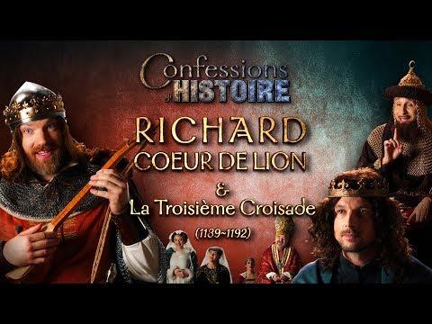 Confessions d'Histoire : Richard Coeur de Lion & la 3ème Croisade - Richard, Philippe II, Saladin thumbnail