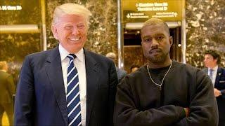 Kanye West Meets Donald Trump @Hodgetwins