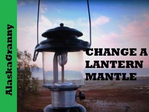 Single mantle gas lantern