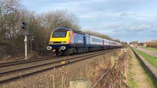 43467 out on first service for East Midlands Trains 12/02/18