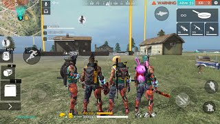 Free Fire live | Intense Squad Ranked Game | Subscribe and join