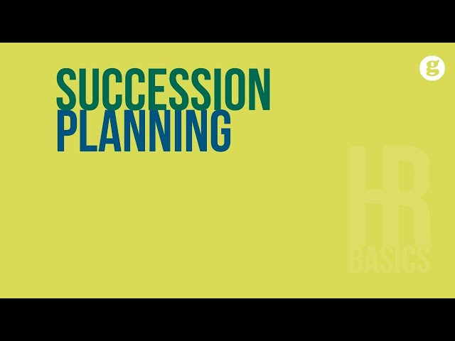 HR Basics: Succession Planning