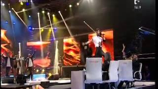 "Robbie Williams - ""Let Me Entertain You"". Interpretarea lui Alex Florea, la X Factor!"