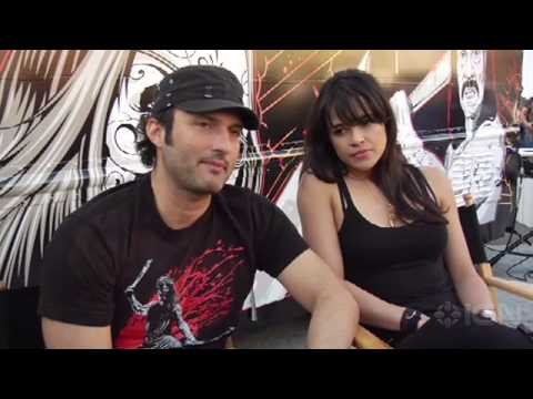 Robert Rodriguez & Michelle Rodriguez - Machete Interviews