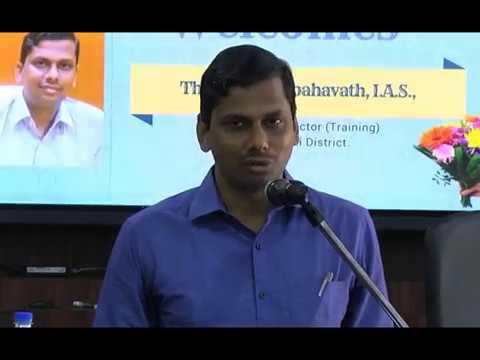 Orientation Program for Competitive Examination Aspirants by Mr. K. Elambahavath IAS.,