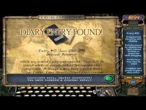 Mystery Case Files: Ravenhearst - All Diary Entries