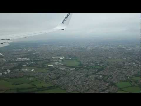 Sony RX100 Camera HD Video Ryanair flight Dublin to Bristol