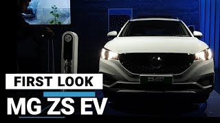 First Look: MG Motor unveils ZS EV in India