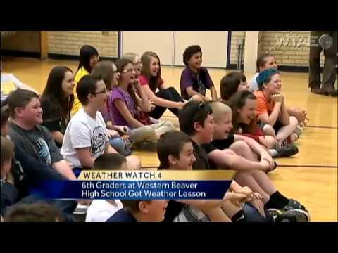 Weather Watch 4 School Visit: Western Beaver High School