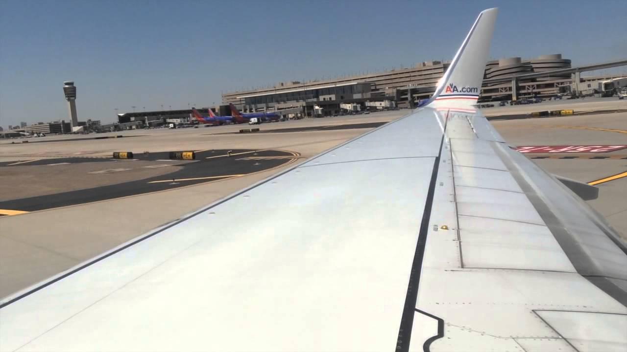 Full Flight American Airlines 1312 Boeing 737 800 Phx
