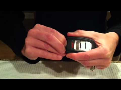 audi key fob battery replacement q5