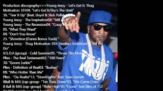 "Young Jeezy - ""All We Do"" Instrumental Prod. By Midnight Black"