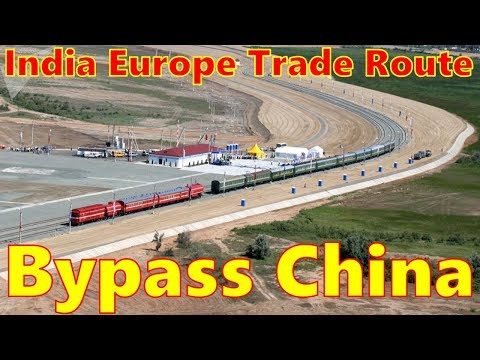 India cracks open a trade route to Europe that bypasses China