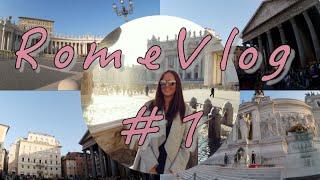 RomeVlog #1 - Fontana di Trevi, Watykan, Vittoriano