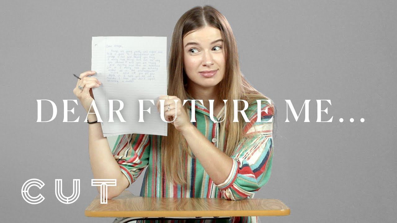 What Would You Write Your Future Self? | 100 Teens | Cut
