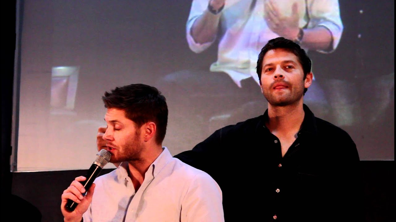 Jensen And Misha Personal Space Youtube