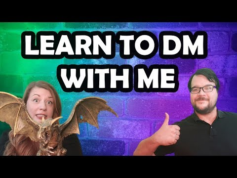 How to DM 101 (D&D) - Part 1 #dnd#dnd5e