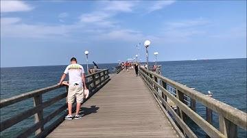 Seebrücke Binz auf Rügen