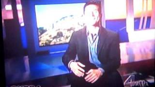 Jesse Csincsak on EXTRA TV with Mario Lopez # 3