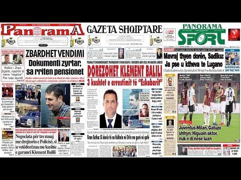 """16 janar, 2019  """"Shtypi i dites"""" në News24 - """"Koha për t'u zgjuar"""" nga Bashkim Hoxha"""