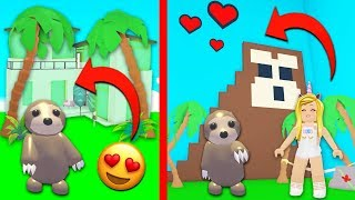 I Bought A HUGE SLOTH MANSION In Adopt Me! (Roblox)