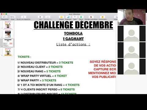 challenge équipe décembre