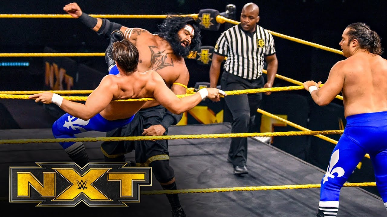 Ever-Rise vs. Indus Sher: WWE NXT, April 8, 2020