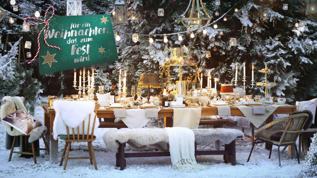 fr ein Weihnachten das zum Fest wird  Weihnachten