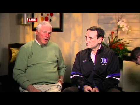 College Basketball: Winningest Coaches Interview - Bobby Knight and Coach K