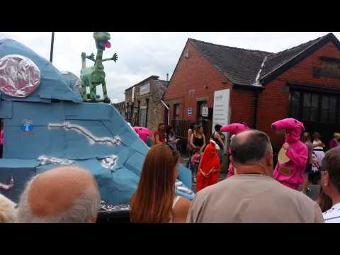 Ribchester field day procession 2014