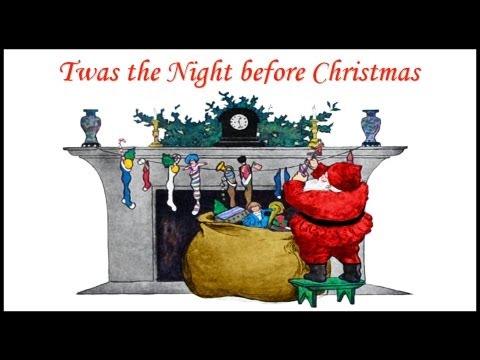TWAS THE NIGHT BEFORE CHRISTMAS Poem