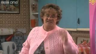 Repeat youtube video Mrs Brown Meets Ken and Barbie - Mrs Brown's Boys - Series 3 Episode 1 - BBC One