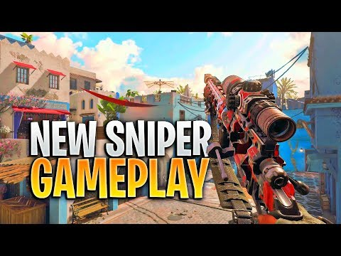 The NEW Black Ops 4 Sniper Rifle... (Black Ops 4 Sniping Gameplay)